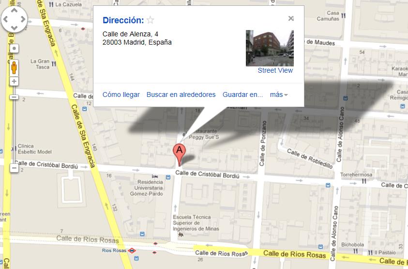 mapa de ubicación del LITI