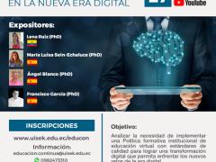 webinar internacional